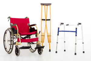 wheelchair and walkers